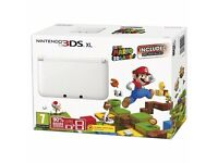 Nintendo 3ds XL white limited edition
