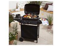 BRAND NEW - Tesco 2 Burner Gas BBQ with Side Burner, Black