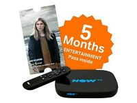 Now Tv Brand new Nowtv Entertainment box and Pass £25
