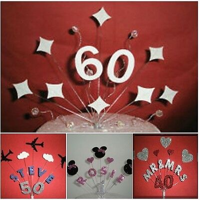 Various Cake Toppers From Just Cake Toppers