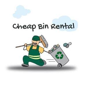 Cheapest bin & dumpster rentals!! Long weekend speacils!!