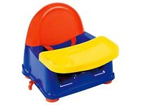 New Safety 1st Swing Tray Booster Seat