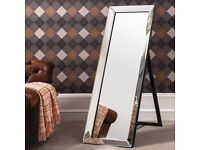 LARGE MIRROR CHEVAL. NEW.