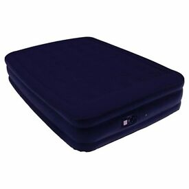 AIR MATTRESS WITH BUILT-IN ELECTRONIC PUMP - £10