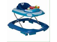 Baby walker and door bouncer and fisher price walker