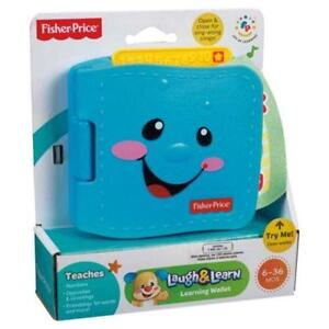 Fisher-Price Laugh & Learn Learning Wallet (brand new, in box!)