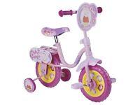 Pretty Pink Peppa Pig Training Bike Age 2 & upwards Brand New in box, Never Used!