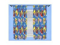 New paw patrol curtains.