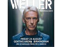 Paul Wellar Tickets x2