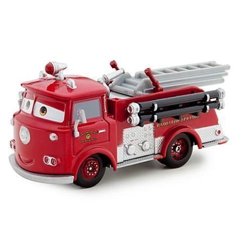 disney cars red fire truck ebay. Black Bedroom Furniture Sets. Home Design Ideas