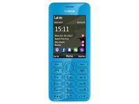 NOKIA Asha 206 (WhatsApp/mp3/32gb) BRAND NEW Sealed!