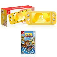 Nintendo Switch Lite + Crash Team Racing - Nitro-Fueled