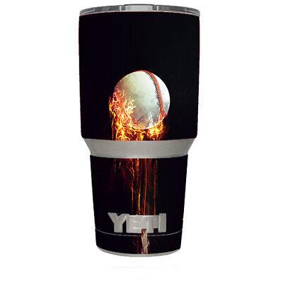 Skin Decal for Yeti 30 oz Tumbler Cup - Baseball Dekoration Kit