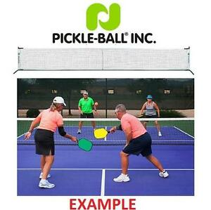 NEW PICKLE-BALL PORTABLE NET 3.0 TOURNAMENT APPROVED - SET INCLUDES METAL FRAME, NET AND CARRY BAG 103573145