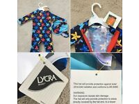 John Lewis 2-3 years UV SunPro Swimsuit and Hat - brand new with tags