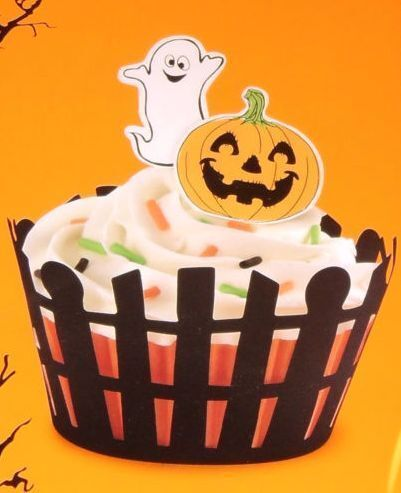 Friendly Halloween Cupcake Ideas on eBay (click on picture to take you to kit)