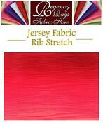 Ribbed Jersey Fabric