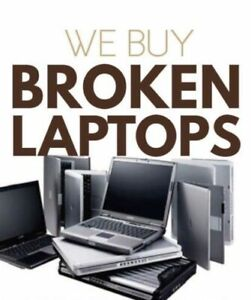 Top $$$ paid for Broken Laptops or Macbooks