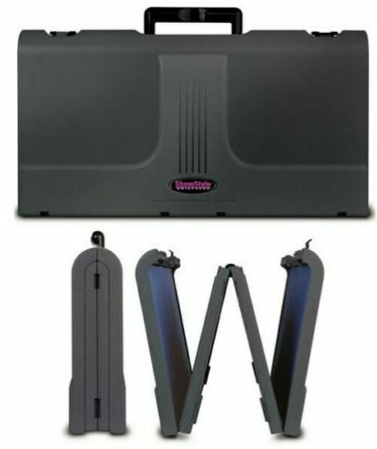 Showstyle Briefcase Tabletop Portable Display Black  fabric panels exhibit