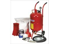 SEALEY SHOT & SODA BLASTING KIT SB997 SB99.KIT 25KG SODA & CONVERSION KIT