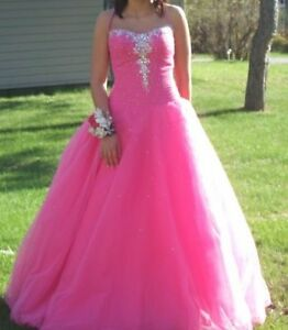 Ballgown-style prom dress