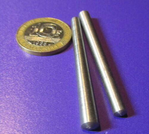 Metric Steel Taper Pins 5 mm Large End x 4 mm Small End x 20 mm Long, 10 Pcs