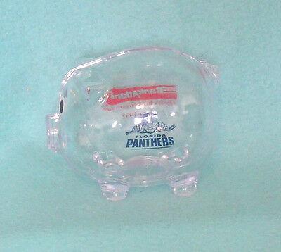 Bank Atlantic   Florida Panthers Hard Plastic Piggy Bank