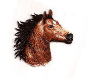 Embroidered Horse Patch