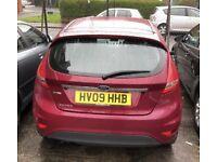 Ford Fiesta 1.4 TDCi 1year MOT, new model NEW 1-year MOT only £20 tax a year £2000
