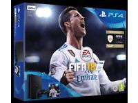 PS4 slim 500 FIFA bundle