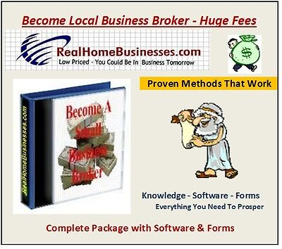 Become A Local Business Broker - All Contracts Software