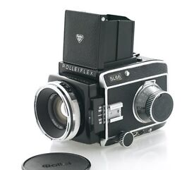 Rolleiflex SL66 complete with 80mm Planar lens and film back