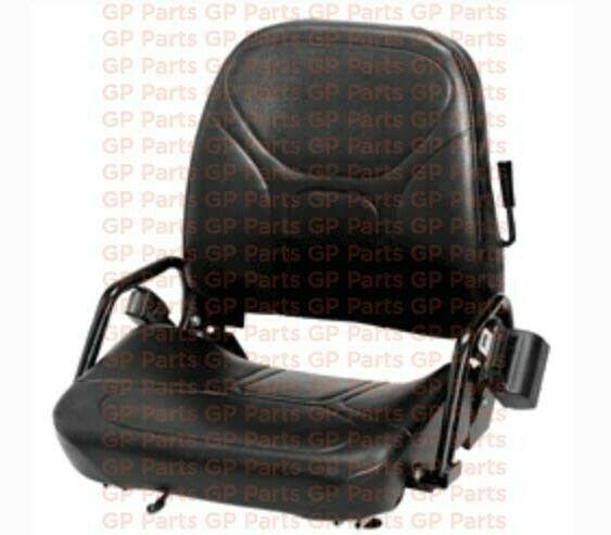 "KOMATSU 3EB-50-A5180, FORKLIFT FOLDING VINYL SEAT ASSY W 40"" SEATBELT"