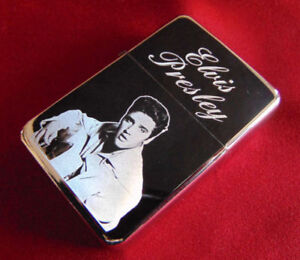 Elvis Presley Engraved Lighter with Gift Box - FREE ENGRAVING
