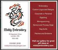 Personal or Corporate Custom Embroidery