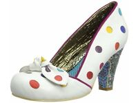 Irregular Choice Womens Spot the Dot Court Shoes UK5