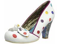 Irregular Choice Womens Spot the Dot Court Shoes UK5