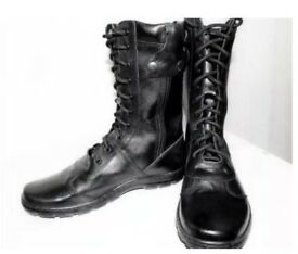 Tactical, army boots. The Russian Army. Winter.