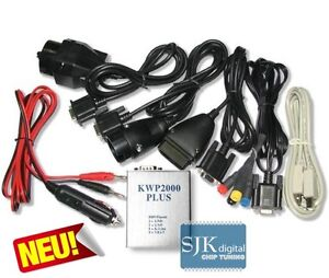 OBD2 USB KWP2000 PLUS Flasher Chip-Tuning BMW AUDI MERCEDES VW + Software !