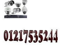 4 x cctv camera + 500gb memory xmeye app tvl cvi phone view