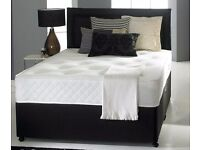 NEW ORTHOPAEDIC DOUBLE BED AND MATTRESS SET