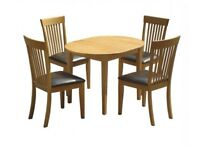 "Devon Extending Dining Set from ""The Range"", extendable Table, converts to seat 6 Chairs"