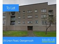 GOOD TENANTS WANTED FOR 2 BED FLAT, 29 UNION ROAD, GRANGEMOUTH, FALKIRK, FK3 8AB