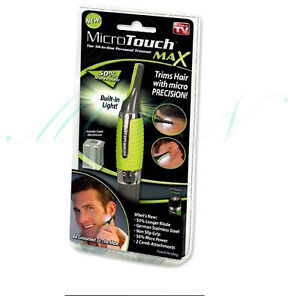 All-in-One Micro Touch MicroTouch Max Nose Ear Neck Eyebrow Hair Remover Trimmer