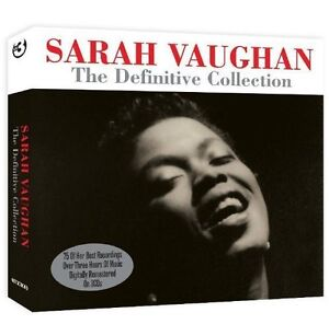 SARAH VAUGHAN THE DEFINITIVE COLLECTION 75 TRACKS  3 CD