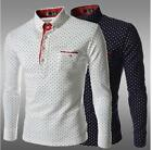 Men Casual Slim Fit Shirt