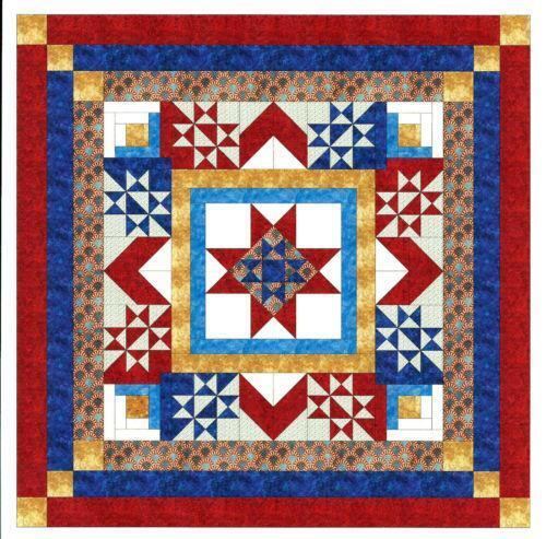 Patriotic Quilt Kit Ebay