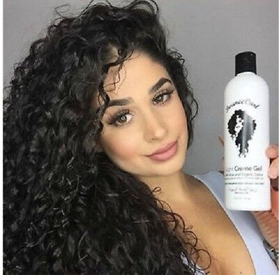 New Bounce Curl Light Creme Gel with Aloe for Curly Hair Best Curling Lotion (Best Gel For Curly Hair)