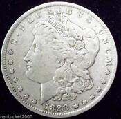 1888 0 Morgan Silver Dollar
