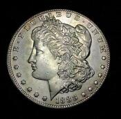 1888 s Morgan Dollar AU